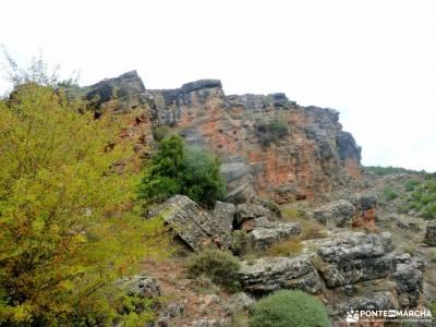 Valle de los Milagros-Cueva de la Hoz; viajes fin de año fines de semana la barranca senderismo sev